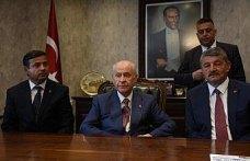 MHP Genel Başkanı Devlet Bahçeli Bartın'da