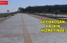 GEYİKKOŞAN, HALKIN HİZMETİNDE!