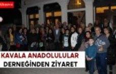 Kavala Anadolulular Derneğinden Ziyaret
