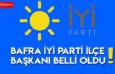 Bafra İYİ Parti İlçe Başkanı belli oldu
