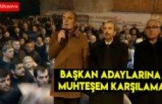 İyi Parti Belediye Başkan Adaylarına Dededağı ve Doğanca'da Muhteşem Karşılama