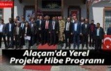 Alaçam'da Yerel Projeler Hibe Programı