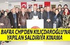 CHP'DEN KILIÇDAROĞLU'NA YAPILAN SALDIRIYA KINAMA