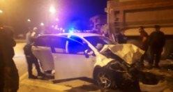 Bafra'da Kaza 5 Yaralı