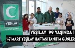 YEŞİLAY 99 YAŞINDA !