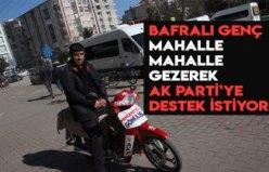 MAHALLE MAHALLE GEZEREK DESTEK İSTİYOR