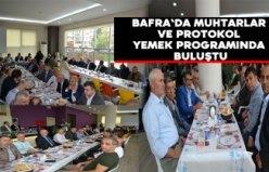 Bafra`da muhtarlar günü etkinlikleri