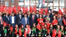 Bafra`da 19 Ekim Kutlamaları