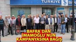 CHP İlçe Örgütünden İmamoğlu'nun Seçim Kampanyasına Bağış