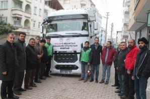 Bafra İHH ve Bafra Eğitim-Bir-Sen'den Halep'e Yardım