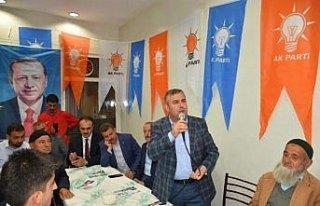 AK Parti Boyabat Seçim Bürosu hizmete açıldı
