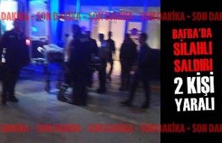 Bafra'da Silahlı Saldırı; 2 Kişi Yaralı