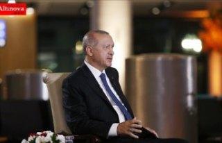 Cumhurbaşkanı Erdoğan: Temelini Cumhur İttifakı'nın...