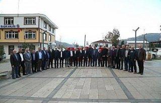 Başkan Tekintaş, Gölköy'ü ziyaret etti