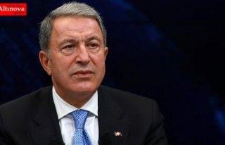 Milli Savunma Bakanı Akar: Terör örgütü kazdığı...
