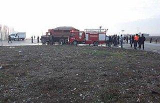 Amasya'da zincirleme trafik kazası: 1 ölü, 1 yaralı