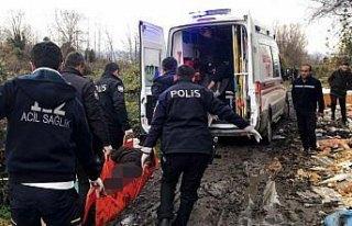 Çöplükte yaralı bulunan kişi hastaneye kaldırıldı