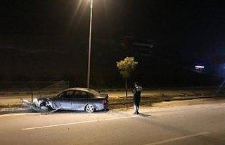 Karabük'te trafik kazaları: 1 yaralı
