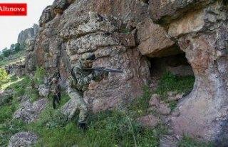 Son bir ayda terör örgütü PKK'ya ait 194...
