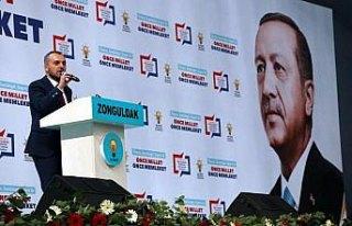 AK Parti Zonguldak Belediye Başkan Adaylarını Tanıtım...