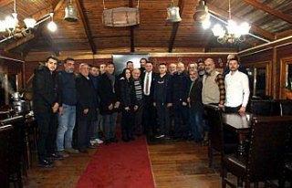 Başkan Akgül basın mensuplarıyla buluştu