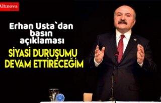 Erhan Usta`dan basın açıklaması