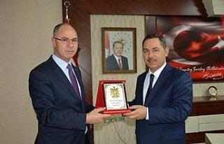Filistin'in Ankara Büyükelçisi Faed Mustafa Zonguldak'ta