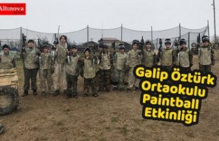 Galip Öztürk Ortaokulu Paintball Etkinliği