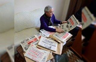 46 yıllık gazete arşivini gelecek nesiller için...
