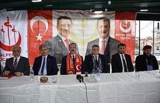 BBP Trabzon Büyükşehir Belediye Başkan adayını...