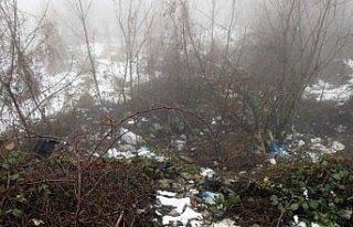 Bolu Dağı'nda bavul içerisinde ceset bulundu