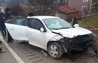 Eskipazar'da trafik kazası: 4 yaralı
