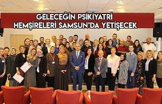 GELECEĞİN PSİKİYATRİ HEMŞİRELERİ SAMSUN'DA...