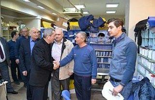 Karabük Belediye Başkanı Vergili'den ziyaretler