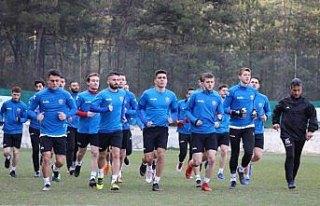 Kardemir Karabükspor'da Ümraniyespor maçı hazırlıkları
