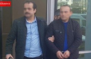 Samsun'da 14 yıl hapis cezası bulunan hükümlü...