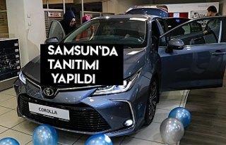 Samsun'da 12. nesil Toyota Corolla'nın...