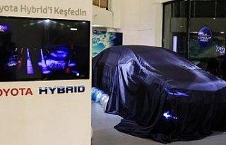Samsun'da 12. nesil Toyota Corolla'nın tanıtımı...