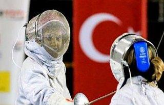 Samsun'da Açık Eskrim Turnuvası sona erdi