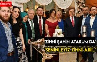 'SENİNLEYİZ ZİHNİ ABİ!..'