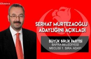H. Serhat Mürtezaoğlu BBP`den meclis üyesi adayı...