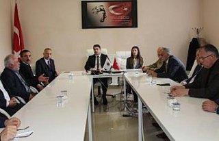 Taşova'da seçim güvenliği toplantısı