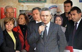 CHP Genel Başkan Yardımcısı Salıcı, Zonguldak'ta