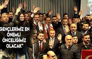 """""""GENÇLERİMİZ EN ÖNEMLİ ÖNCELİĞİMİZ..."""