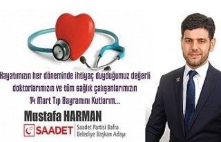 Saadet Partisi Belediye Başkan Adayı Mustafa Harman'ın...