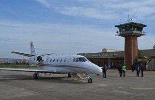 Zonguldak Havalimanı'nda test uçuşları başladı