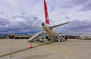 Amasya Merzifon Havalimanı uçuş istatistikleri