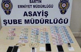 Bartın'da yankesicilik şüphelisi 5 kişi tutuklandı