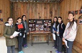 Boyabat'ta öğrenciler ilçelerini tanıttı