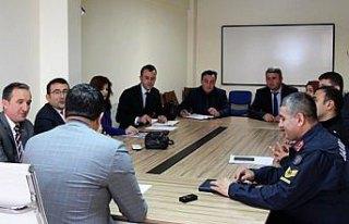Hanönü'de eğitim toplantısı yapıldı